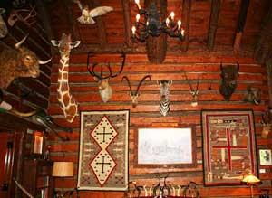 The ranch house at Woolarac