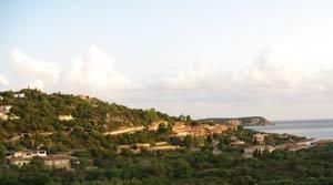 Sunrise in Sardegna.