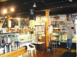 The Black Sheep is a delicatessen, all-butter scratch bakery, café, gourmet food purveyor, and full service caterer.