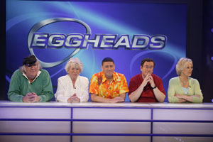 A screenshot from 'Eggheads' - photo courtesy of 12yard.com