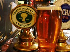 A pint of Manchester's finest