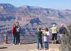 The Grand Canyon is one of America's favorite family destinations. Photos by Shady Hartshorne