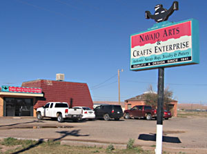 Navajo Arts & Crafts enterprise is Navajo-owned.