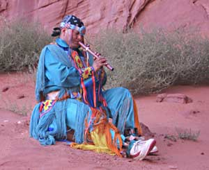 Jamie Gillis in Traditional Navajo Dress - photos by Shady Hartshorne