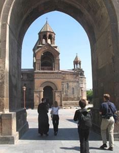 Echmiadzin, the seat of the Armenian Apostolic Church