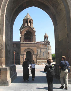 Echmiadzin, the seat of the Armenian Apostolic Church