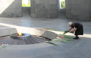 The Genocide Memorial and Museum at Tsitsernakaberd
