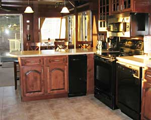 These houseboats have nicer kitchens than my house!