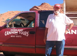 """""""Woody"""" Woods was one of the first to give tours of Antelope Canyon."""