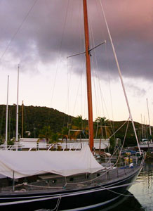 Sailing is a classic BVI pastime.