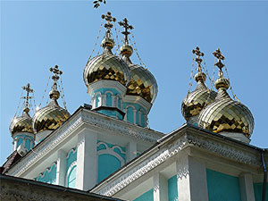 St. Nicholas Cathedral in Almaty