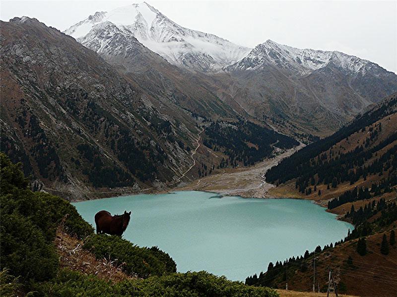 Lake Almaty, Kazakhstan - photo by David Rich