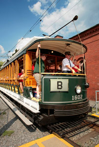 The city offers free trolley tours. Jim Higgins photo courtesy of the National Park Service.