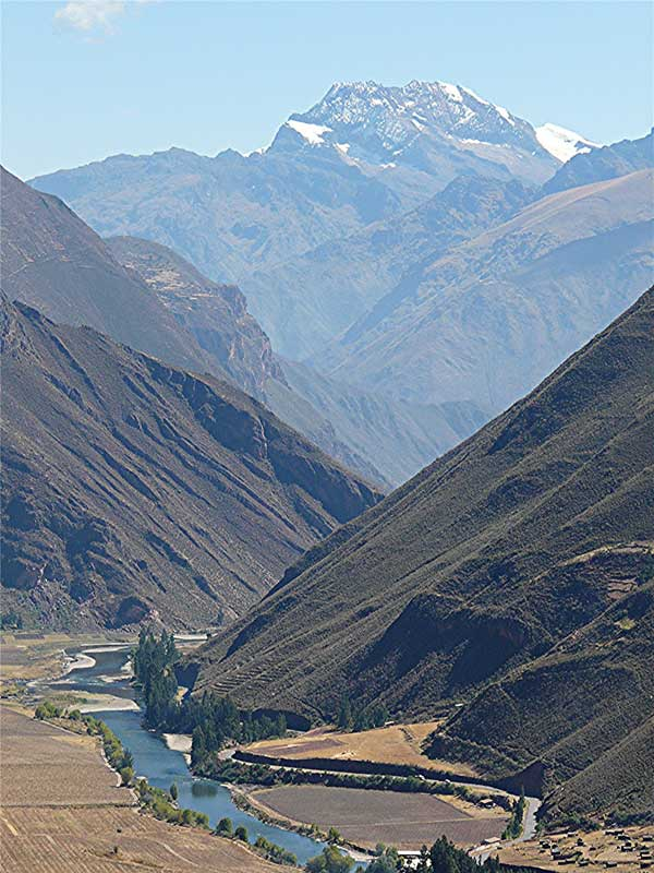 The Sacred Valley of the Incas - photo by David Rich