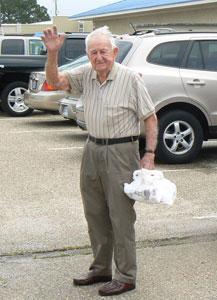 Gus Schultz of Foley, Alabama