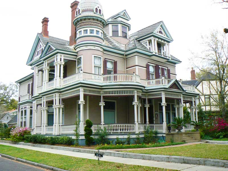 A Victorian mansion in Mobile, Alabama