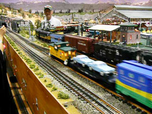 Electric trains in Foley