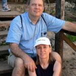 Max Hartshorne and his partner Cindy