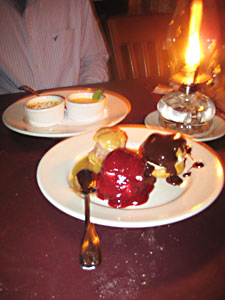 Desserts at the Common Man
