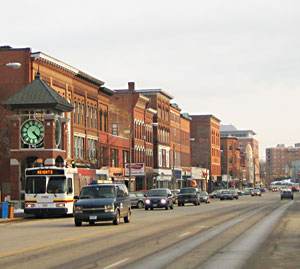 Downtown Concord, New Hampshire