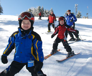 Pat's Peak is a great place for family skiing.