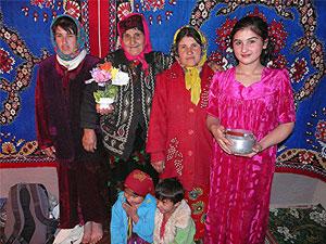 A family in Khuroak