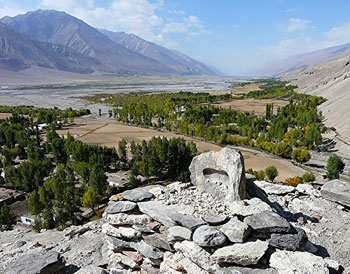 The Wakhan Valley in Tajikistan - photo by David Rich