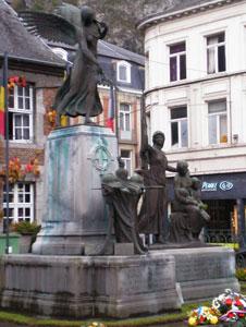 War memorial in Dinant