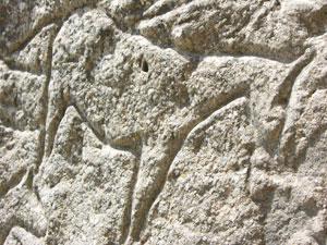 A petoglyph at Qobustan