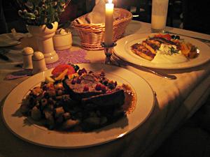 Lunch at Vanaema Juures, an authentic Estonian restaurant