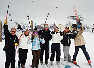 Motley Crew ski Chamonix