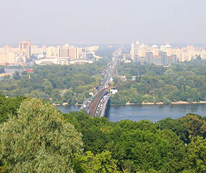 Kiev is one of the greenest cities in the world.