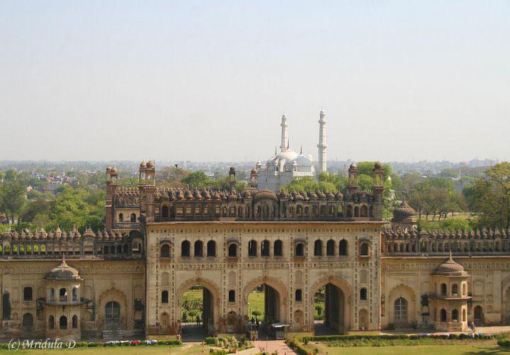 The Bara Imambara in Lucknow - photo by Mridula Dwivedi