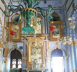 Inside Chota Imambara