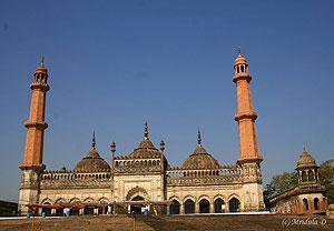 The Mosque at Bara Imambara