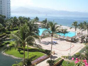 A view of Banderas Bay