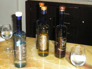 The Casamagna Marriott has made its own brand of tequila for three years.