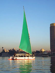 A pre-dawn felluca sail is a splendid way to view the Nile and the awakening city of Cairo.