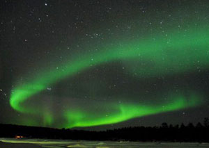 The Northern Lights - photo by Pier Orler Images