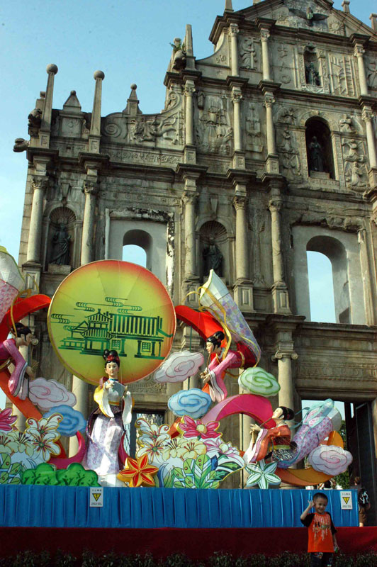 A parade in Macau - photo by Janis Turk.