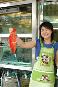 Red snapper at the Red Market
