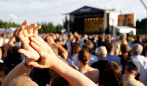 People travel from all over Europe to attend Pori Jazz