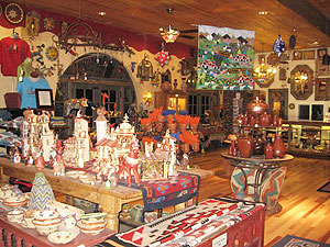 You can buy reproductions of some of the dishware and other items designed by Mary Colter at the gift shop.