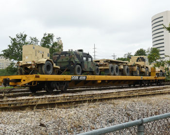 The Port of Beaumont is the main depot for supplying US forces in Iraq and Afghanistan.