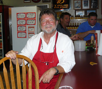 Larry Judice of Larry's French Market in Groves, Texas
