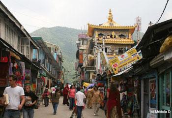 A street in McLeod-Ganj