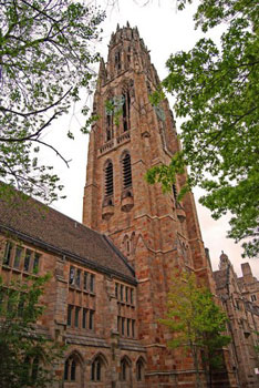 Harkness Tower at Yale University