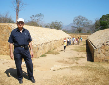 The Ball Court at Tehuacalco