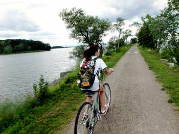 The Burlington Bike Path