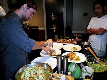 In The Essex training kitchen